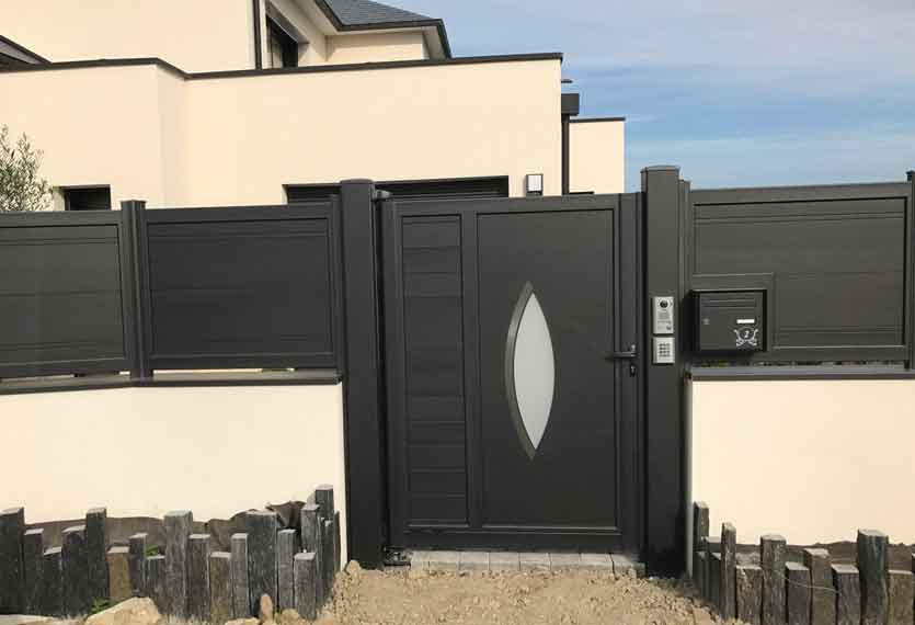 Horizal Akordia Collection - Aluminium Gates