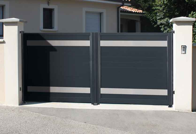 Horizal Anodised Collection- Kazal Aluminium Sliding Gate