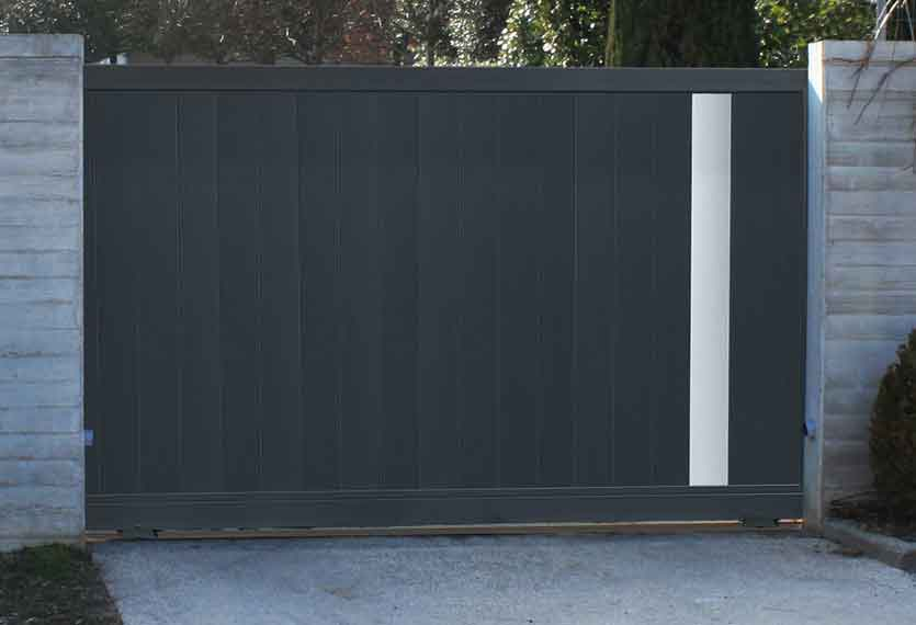 Horizal Anodised Collection- Ketis Aluminium Sliding Gate