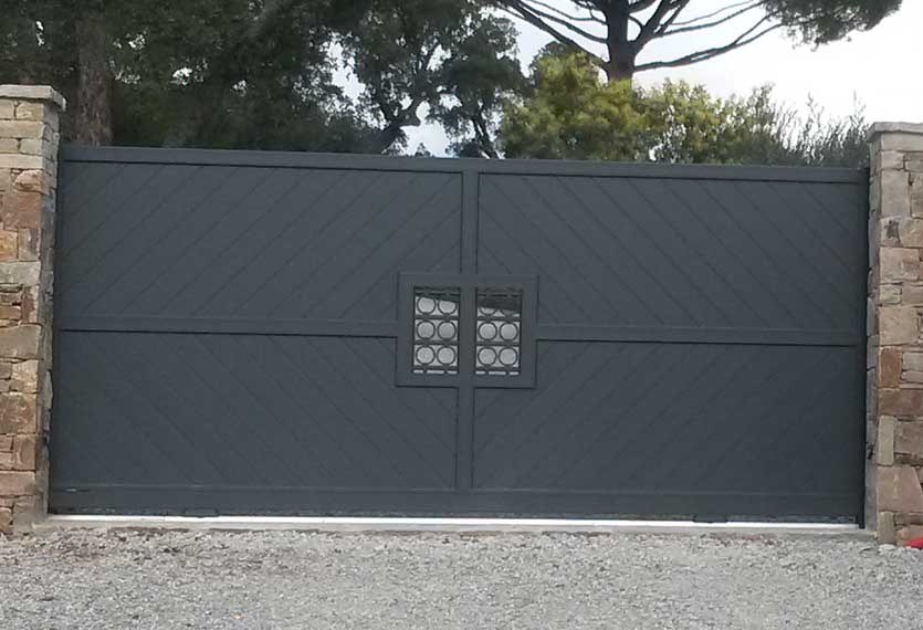Horizal Confidence Collection - Constance Aluminium Gates