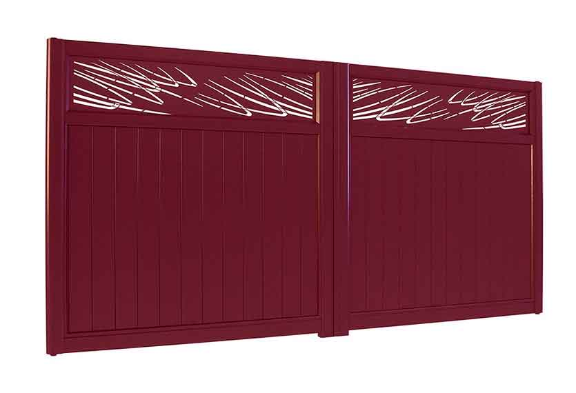Horizal Lazer Collection - Muze Austral Aluminium Gates