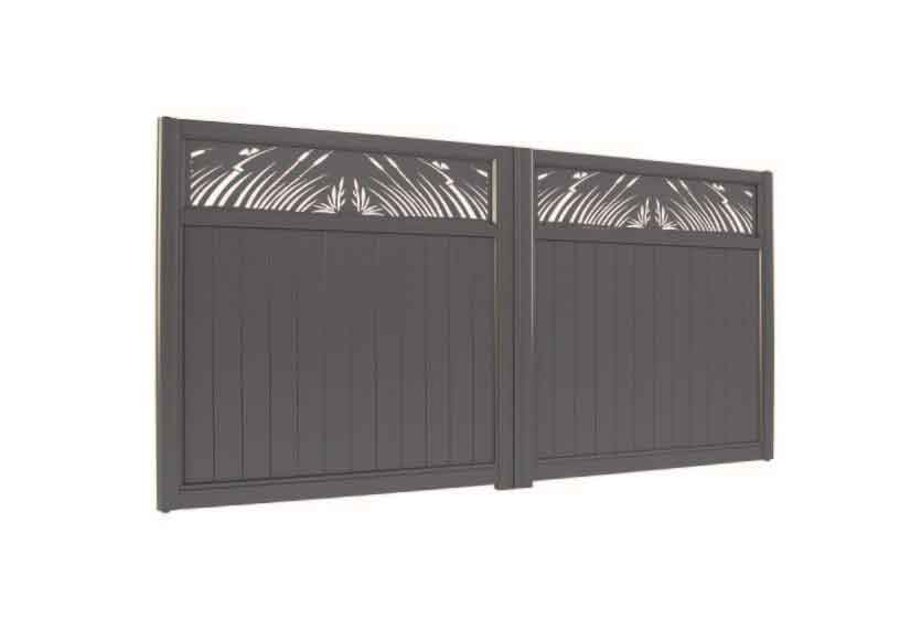 Horizal Lazer Collection - Muze Natura Aluminium Gates