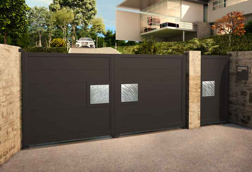 Horizal Night and Day Collection - Aluminium Gates
