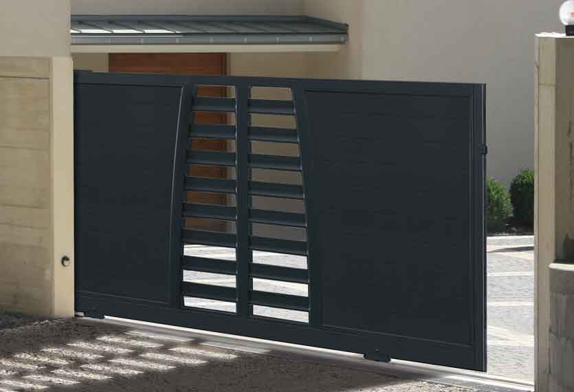 Horizal Revelation Collection - Alga Aluminium Sliding Gates