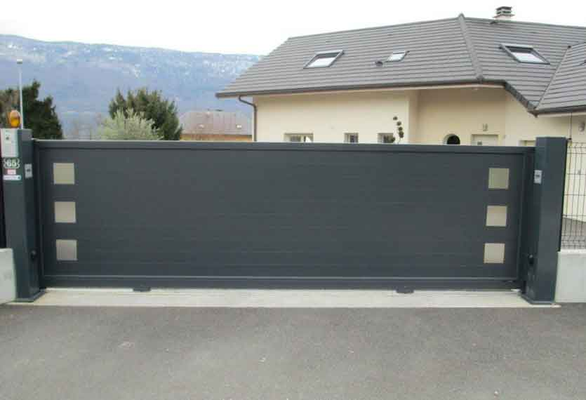 Horizal Stainless Collection - Kero Aluminium Sliding Gates