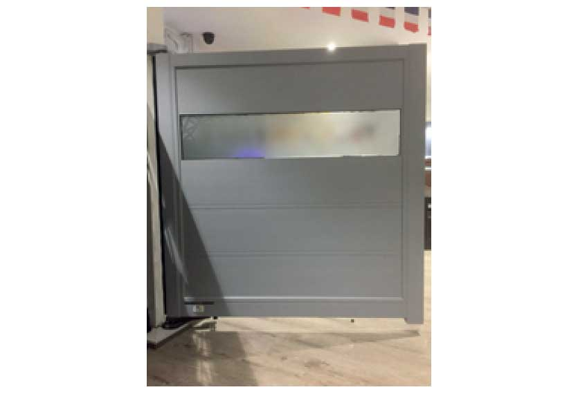 Horizal Lazerglass Collection - Many colours to choose from - Aluminium Gates